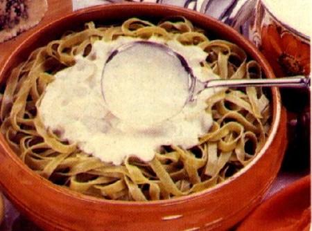 Fettuccine ao Gorgonzola