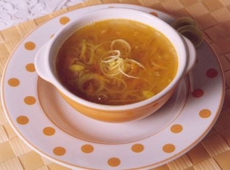 Sopa de Alho-Poró e Batatas | CyberCook
