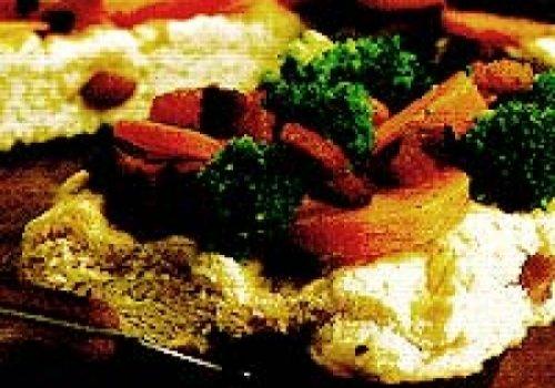 torta de brocolis e bacon
