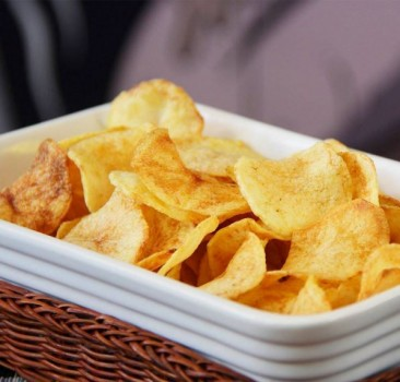 Batata Chips Caseira | Sanduba Insano