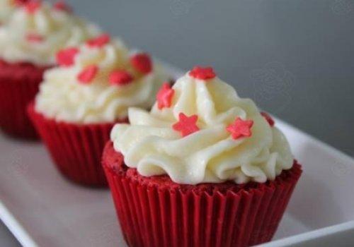 Cupcake veludo vermelho (Red Velvet)