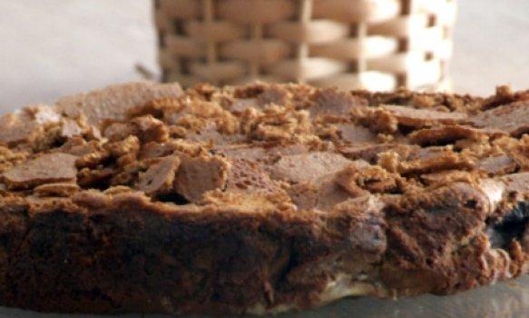 Bolo Cremoso de Chocolate com Café