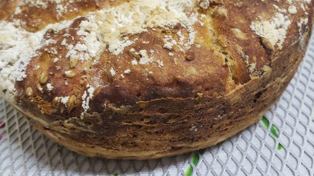 Pão Caseiro de Panela com Malte Pilsen Sem Sovar