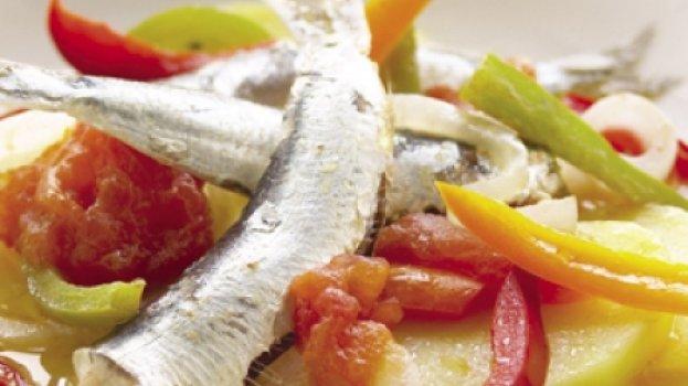 Cataplana de sardinhas