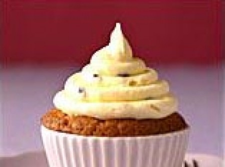 Cupcake com Creme de Baunilha