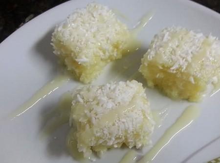 Cuscuz de Tapioca, Coco e Abacaxi