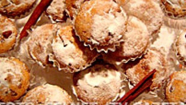Muffins de Canela e Iogurte