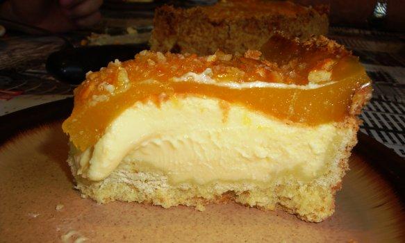 Torta de Queijo com Laranja
