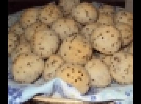 Pão de queijo sem ovo | AIDA MIRANDA