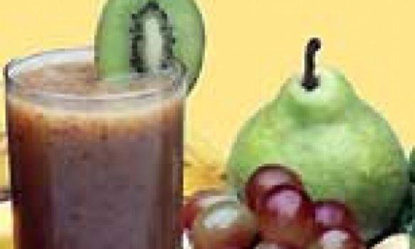 Refresco de Frutas e Chocolate