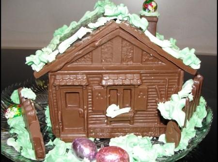 Casinha de chocolate de nancy