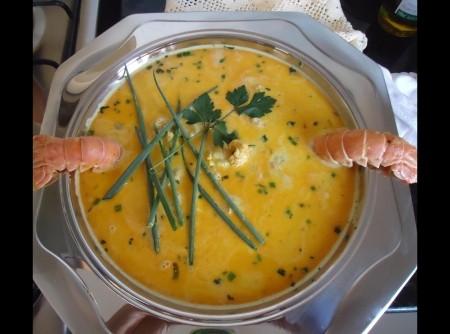 Lagostins Ao Molho Curry