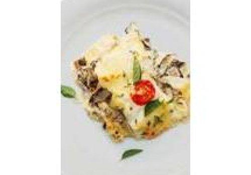 Lasanha de Shitake e Queijo Brie