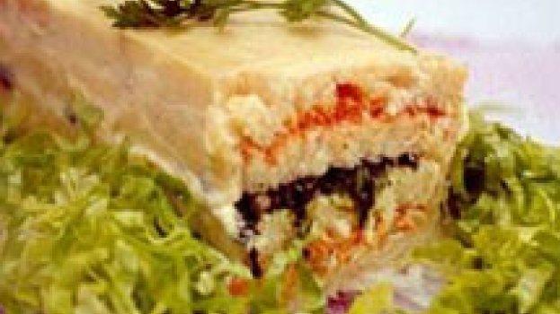 Sanduíche Tricolor