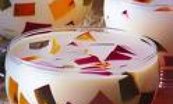 gelatina mosaíco