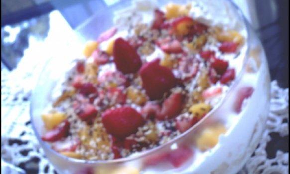 pave bolo de frutas