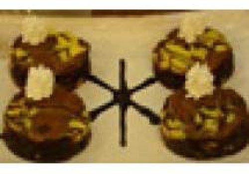 Brownie de Chocolate e Queijo
