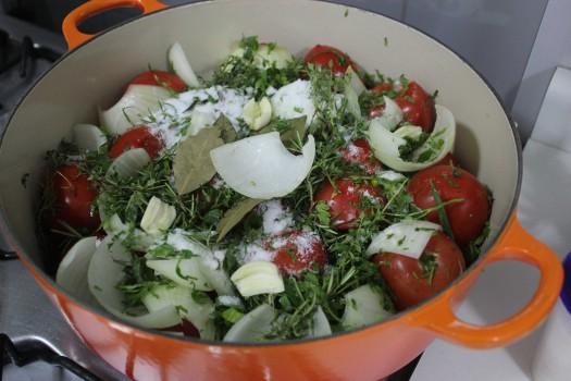 Molho de tomates favorito
