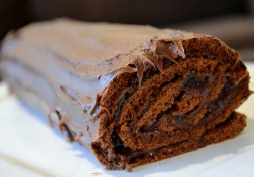 Rocambole de Chocolate