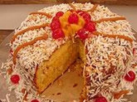 Bolo Gelado de Abacaxi para Festas