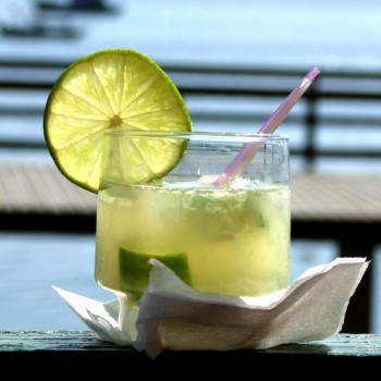 Caipiroska de limão com Vodka