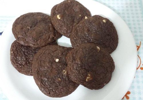 Cookies de Chocolate com Castanha do Pará