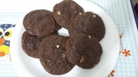 Cookies de Chocolate com Castanha do Pará | Veronica Batista Vieira