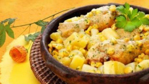 frango com batata