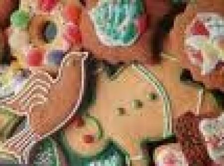Biscoitos de especiarias de Natal