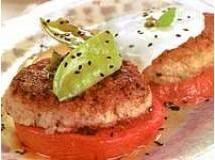 Hambúrguer de Frango com Maionese de Alho