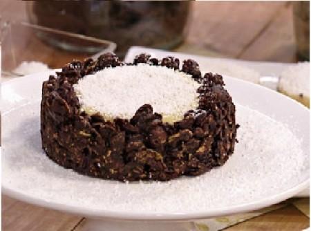 Torta Crisps com Coco