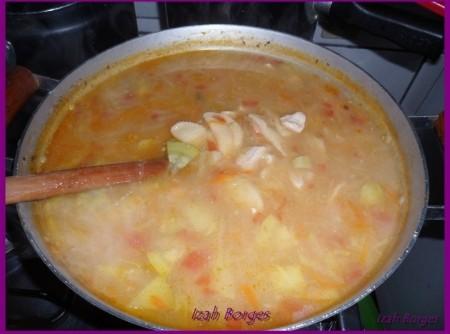 Sopa   Soup   Zuppa   com Ravióli