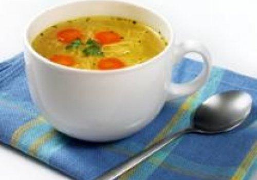 Sopas com alimentos funcionais