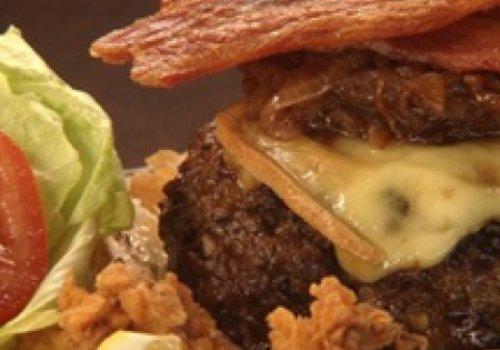 Super-hambúrguer do Chuck