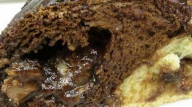 Trança de Chocolate com Bombons