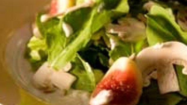 Salada Girassol com Espuma de Pupunha
