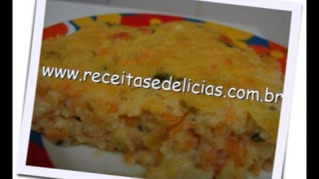 Torta de legumes especial