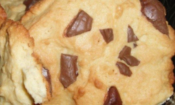 Cookies de Chocolate com Creme de Leite