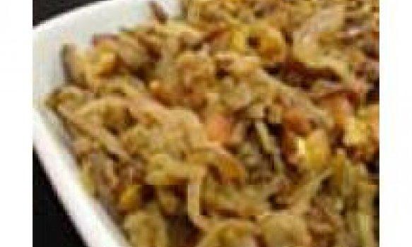 Salada de Berinjela com Nozes