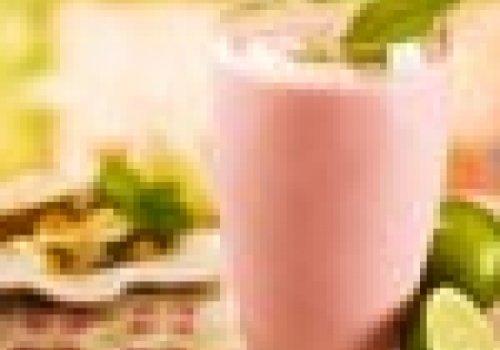 Smothie de Morango e Abacaxi