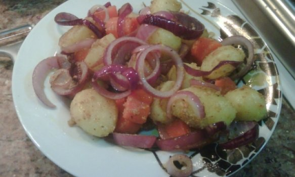Legumes com Doritos