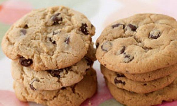 Cookies Crocantes de Chocolate