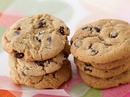 Cookies Crocantes de Chocolate   Sônia regina Franceschini