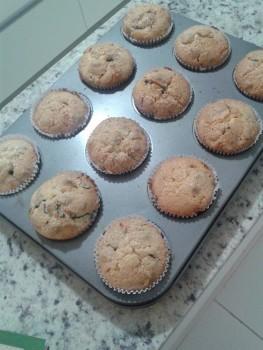 Muffins de iogurte natural | Rafaela Werlang