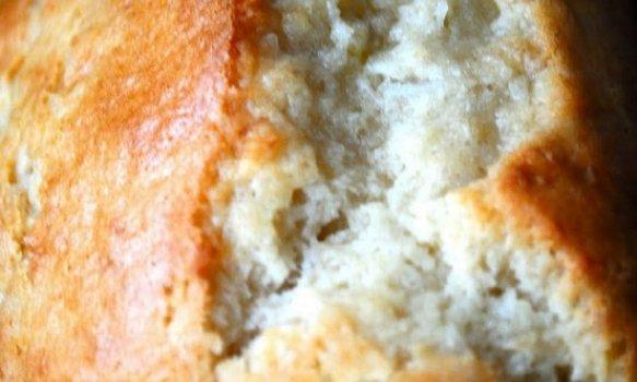 Pão de Minuto com Coco