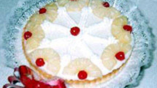 Torta Mousse de Abacaxi