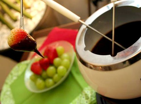 Fondue de Chocolate | CyberCook