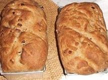 Pão de Leite Integral com Pecãs