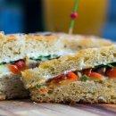 Sanduíche Vegetariano
