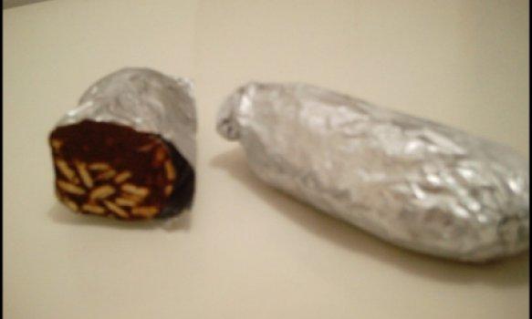 rocombole de chocolate